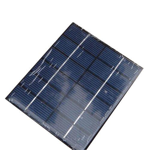 Zimo DIY Solar Panel Ladegerät 6V 2W 300mA Solarmodul Batterie Solarzelle zur Aufladung