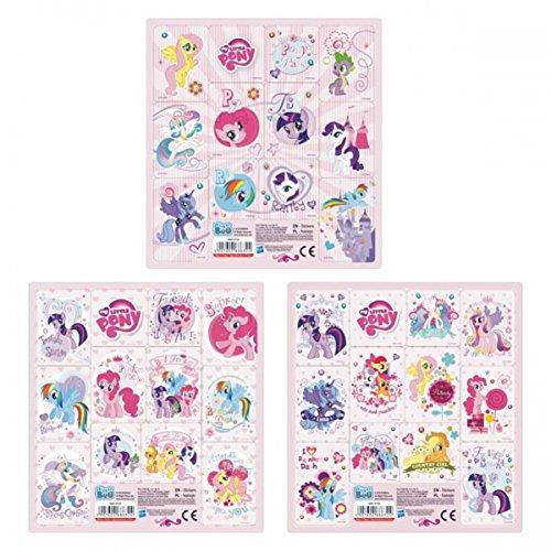 Set My Little Pony 12er Stickerbogen Sticker Mitgebsel Mein kleines Pony ()
