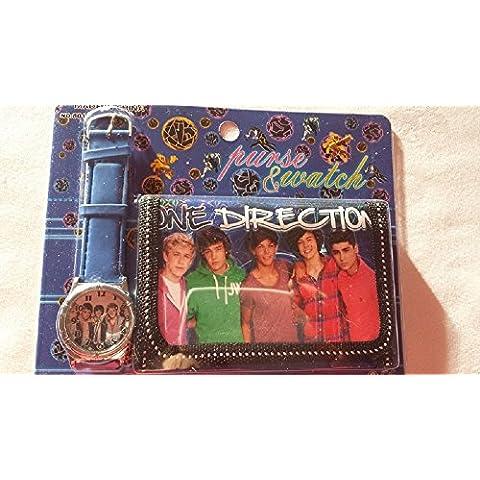 One Direction Set Portafoglio e Orologio - 25 Calza Della Befana