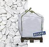 Hamann Marmorkies Carrara 15-25 mm Big Bag 600 kg - Mit kreativen Ideen kann jeder Garten durch Zierkies und Naturstein aufgewertet und edel gestaltet werden.