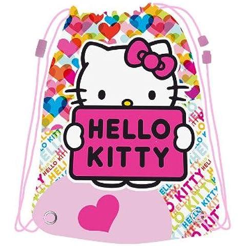 Saco Hello Kitty corazones grande