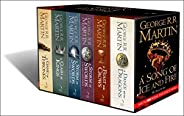 A Song of Ice and Fire A Game of Thrones The Story Continues Boxed Set by George R. R. Martin - Paperback