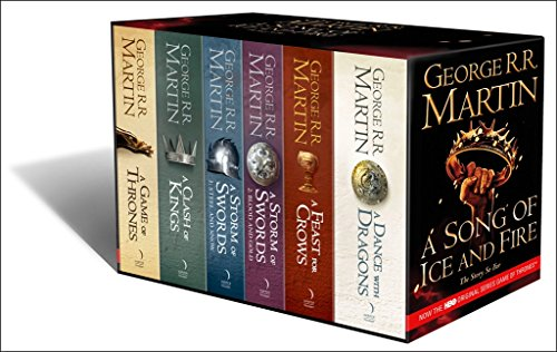 A Game of Thrones: The Story Continues [Export only]: The complete boxset of all 6 books (A Song of Ice and Fire) por George R.R. Martin