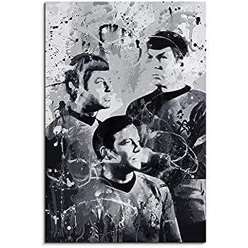 90x60cm PAUL SINUS Splash Art Gemälde Kunstbild Fallout Art