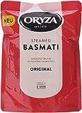 Oryza Pouch Steamed Basmati Original, 6er Pack (6 x 200 g)