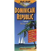 Dominican Republic Road Map (B&B Road Maps)