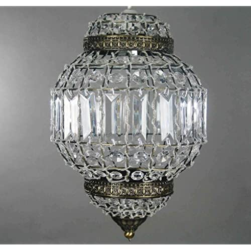 Classic Morrocan Lantern Style Antique Brass Clear Acrylic Ceiling Light Shade Easy Fit Pendant & Moroccan Lighting: Amazon.co.uk azcodes.com