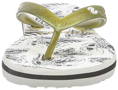 Desigual - Shoes_flip Flop 9, Sandali infradito Donna Nero (Schwarz (2000 NEGRO))