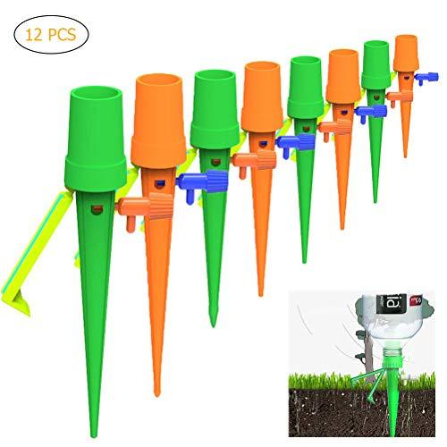 Automatisch Bewässerung Set,Automatische Bewässerungssystem Selbst Pflanzen Wasser Bewässerung Kegel Pflanzengießer Tropfbewässerung für Garten,Zimmerpflanze,Blumen -