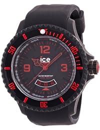 Ice-Watch DI.BR.XB.R.11 - Reloj analógico de cuarzo para hombre con correa de silicona, color negro