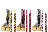 Ivybands | IVYLACES 3er Colorful Leo Edition | Premium Schnürsenkel | Schuhband ILACE026 027 054