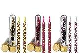 Ivybands® | IVYLACES® 3er Colorful Leo Edition | Premium Schnürsenkel | Schuhband ILACE026 027 054
