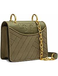 80218807096 Tory Burch Alexa Mini Crossbody Bag Shoulder Bag Leather (Banana Leaf)