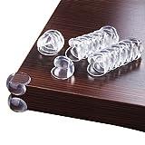 BoRui Sicherheit Eckenschutz und Kantenschutz, klar Tisch Ecke Kissen für Baby Kind (20 Stück)