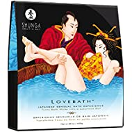 Shunga Love Bath Ocean Temptations, Color Azul - 650 gr