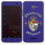 HTC Butterfly Case Skin Sticker aus Vinyl-Folie Aufkleber Oktoberfest Schild Wiesn München