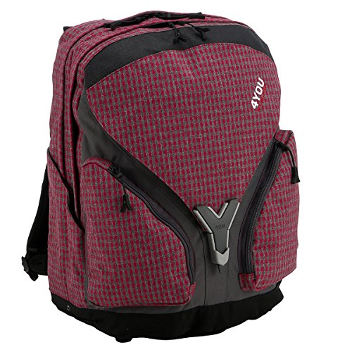 4 You Limited Edition 39 Schulrucksack Igrec 44 cm checker pink