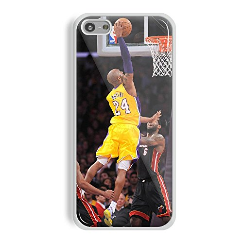 Kobe Bryant Dunk Over James for Iphone and Samsung Galaxy Case (iPhone 5/5s white)
