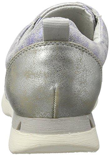 Marco Tozzi Damen 23700 Sneakers Blau (Electric Blue 813)