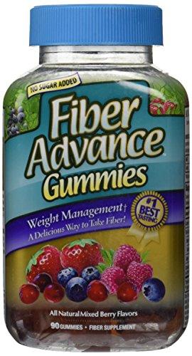 FiberAdvance Weight Mangement Gummies, 90 Count (International Mangement)