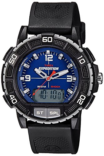 Timex Expedition Analog-Digital Blue Dial Men's Watch - T49968 image