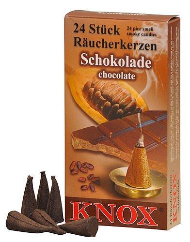 Incenso Coni - Cioccolato - Autentica tedesco Erzgebirge I fumatori - Knox