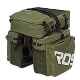 HAPQIN Roswheel 37L Robustes wasserabweisendes 3-in-1-Gepäckträgertasche