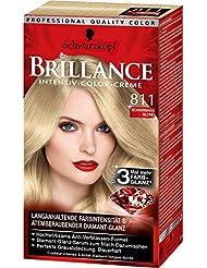 Brillance Intensiv-Color-Creme 811 Scandinavia Blond, 3er Pack (3 x 143 ml)