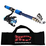 #2: Fishing Spinning Rod, Reel, Free Travelling Bag (6 Feet)
