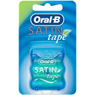 Oral-B Satin Tape Dental Floss, Mint Flavour, 25 m, Pack of 2