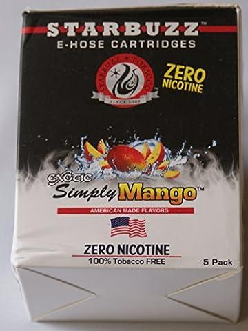 Lot de 8 Cartouches STARBUZZ Saveur Simply Mango