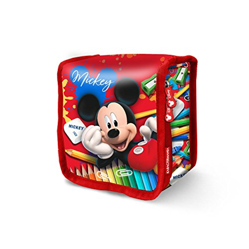 Karactermania Mickey Mouse Crayons-Sac à Pique-Nique Thermique Schulranzen, 15 cm, Rot (Red)