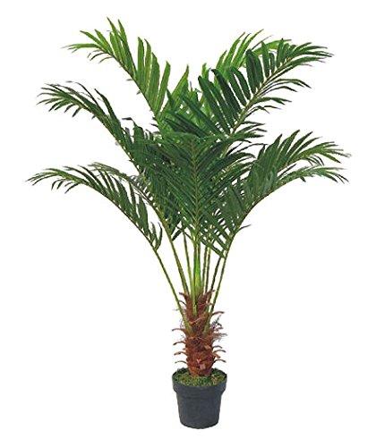 Palme Palmenbaum Arekapalme Kunstpflanze Kunstbaum Künstliche Pflanze 140cm Decovego