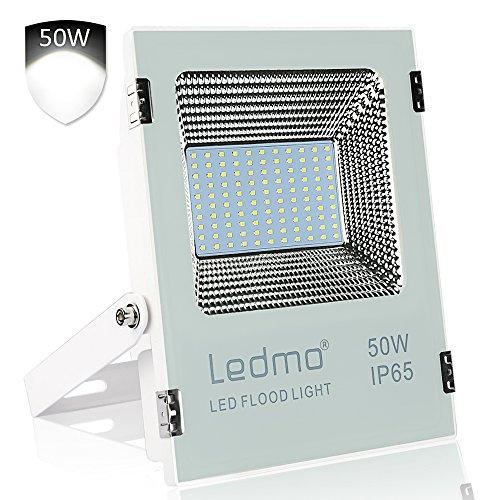 focos led exterior 50W Blanco 6000K,focos led 5000LM Resistente al Agua IP65,...