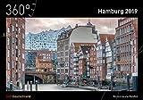 360° Deutschland Kalender 2019 - Hamburg