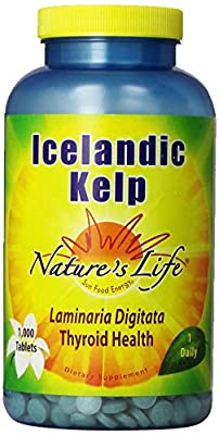 Nature's Life Icelandic Kelp 1000 tabs from Nature's Life