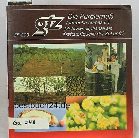 Die Purgiernuss (Jatropha curcas L.). Mehrzweckpflanze als Kraftstoffquelle der Zukunft?