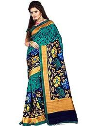 Samskruti Sarees Raw Silk Saree (Sspee-5517_Green)