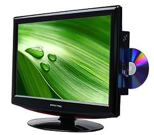"""Peekton 156LC179HDR DVD TV LCD 15,6"""" (40 cm) avec Lecteur DVD intégré HD TV HDMI USB"""
