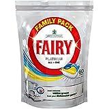Fée Platinum All in One Lave-vaisselle comprimés Lemon (60) - Paquet de 6