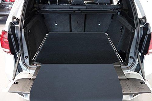 tuning-art 2908 Kofferraummatte 3-teilig, Rückbankschutz, Ladekantenschutz