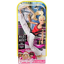 Barbie Movimiento sin límites karateka