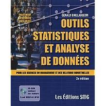 Outils statistiques et Analyse de données : Pour les sciences du management et des relations industrielles (1Cédérom)