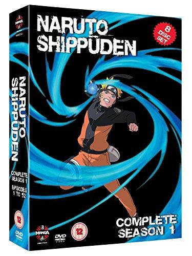Naruto Shippuden - Complete Series 1 (8 Dvd) [Edizione: Regno Unito] [Import italien]