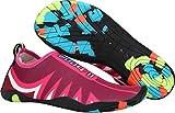 Gaatpot BADESCHUHE Damen Herren Strand Aquaschuhe Wasserschuhe Surfschuhe Rutschfest Strandschuhe Schwimmschuhe Sommer Aqua Schuhe Rosa(Pink) 36