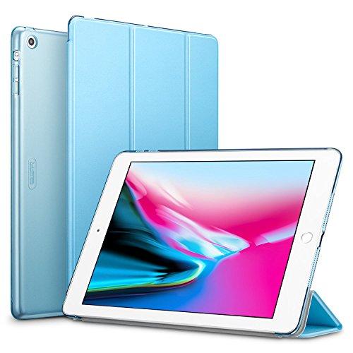 ESR Cover per iPad Air, Ultra Sottile e Leggere, Slim Smart Case Cover Magnetico con la Funzione Auto Sleep per Apple iPad Air 1/ iPad 5 9.7 Pollici Uscito a 2013 (Modello A1474,1475,1476).(Azzurro)
