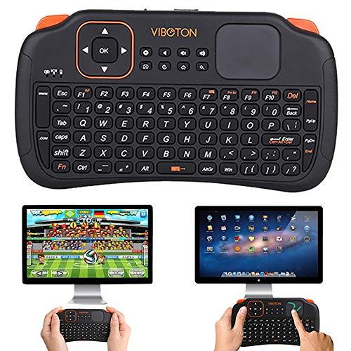 Sguan-wu 2,4 G Wireless-Multimedia-Gaming-PC Smart TV-Fernbedienung mit der Air Mouse-Tastatur - Schwarz