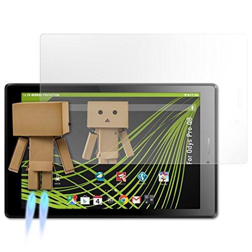 atFolix Bildschirmfolie kompatibel mit Odys Pro Q8 Spiegelfolie, Spiegeleffekt FX Schutzfolie