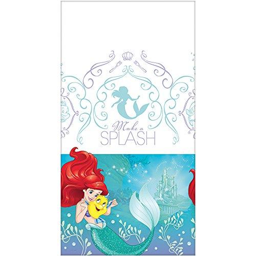 rau/The Little Mermaid, glitzernd, Party Tischdecke (Meerjungfrau Halloween-ideen)