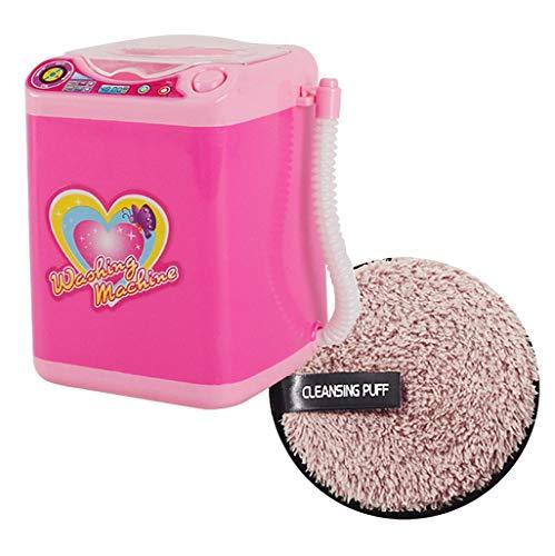 Gras-reiniger (Dtuta Reiniger Und Trockner Elektrische Automatische Make-Up Pinsel Puff Reinigung Baumwolle Waschmaschine Reinigungswerkzeug + Reinigungspuff)